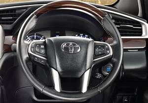 Toyota Innova Crysta Steering Wheel Interior Picture