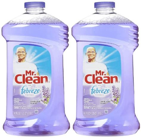 mr clean with febreze freshness multi surfaces liquid