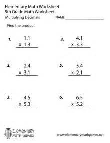 Worksheets Multiplying Decimals Worksheets 5th Grade multiplying decimals worksheets 5th grade delibertad delibertad