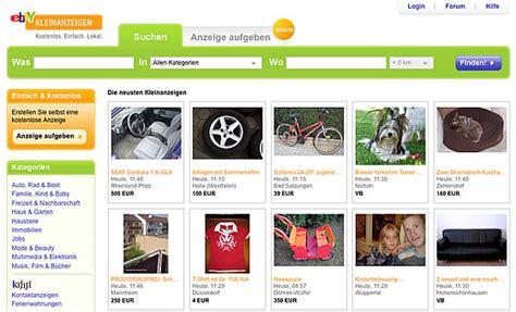 ebay mit neuer kleinanzeigen plattform