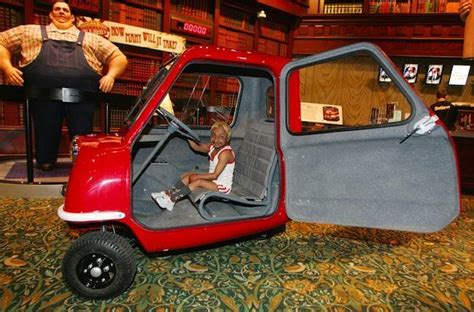 Worlds Smallest Car by The Peel P50 Car Was Made For Pulling Flashbak