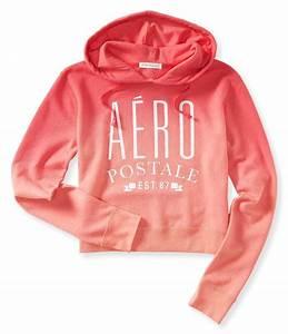 Dip-Dye Glitter Aero Popover Hoodie - Aeropostale | My Closet