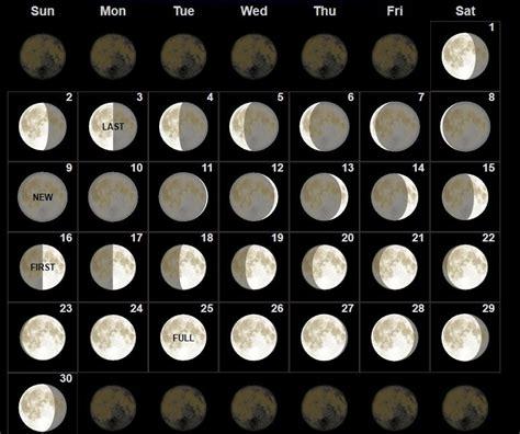 moon phases september  calendar moon calendar moon