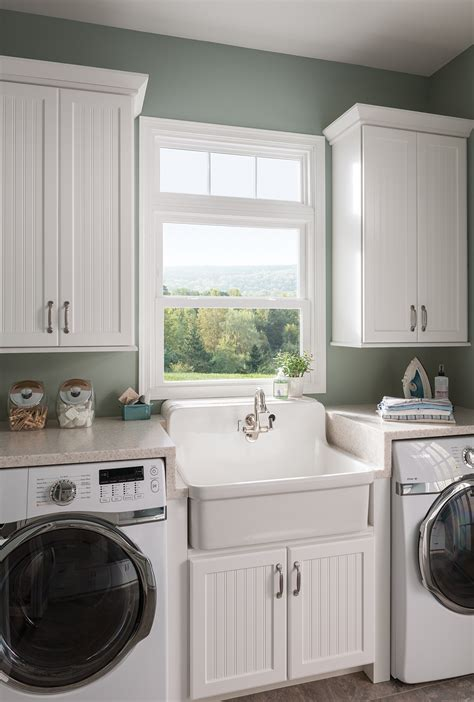 laundry room   double hung window