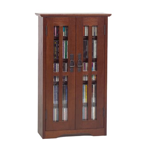 leslie dame wall hanging mission style multimedia cabinet walnut m 190w