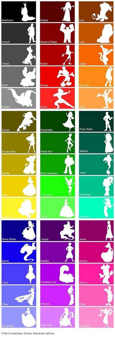 disney paint colors chart 25 unique disney colors ideas on disney