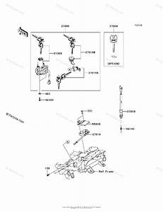 Kawasaki Motorcycle 2010 Oem Parts Diagram For Ignition