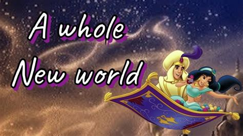 A Whole New World Cover Original Song by Mena Massoud and