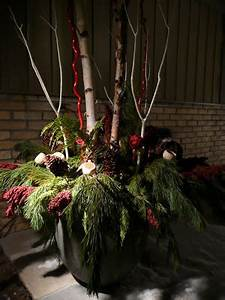 Kiki Interiors Decor and Staging Holiday outdoor planters