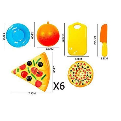 jeu de cuisine pizza jt amigo jeu d 39 imitation 24 pièces set jeu de cuisine legumes fruits pizza a decouper