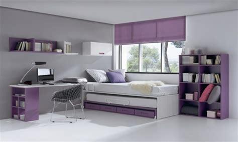 chambre fille violet décoration chambre ado moderne en quelques bonnes idées