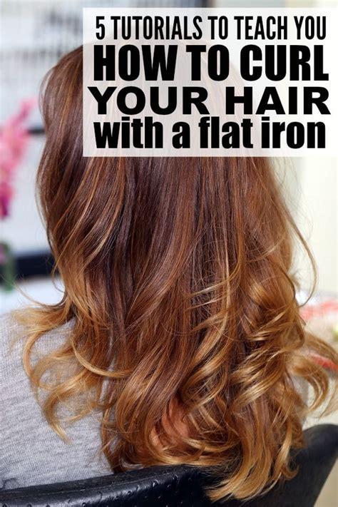 tutorials  teach    curl  hair   flat