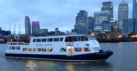Party Boat Cruise London by Golden Jubilee Party Boat Hire River Thames London Cpbs