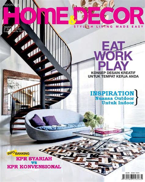home decor indonesia august  magazine