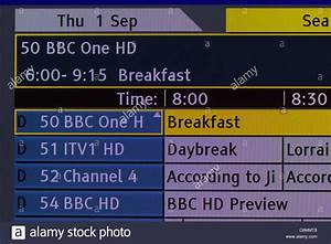 Tv Screenshot Of Guide Plus Channel Guide Showing The Hd