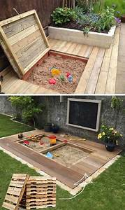 17, Cute, Upcycled, Pallet, Projects, For, Kids, Outdoor, Fun