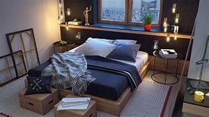 Masculine Bedroom Interior Design Ideas – FNW