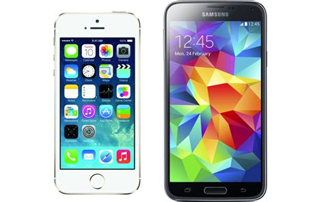 samsung galaxy s5 vs iphone 5s samsung galaxy s5 vs apple iphone 5s which one should