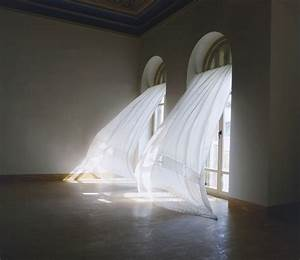 Raboartcollectionthe title of the work is identical to a for White curtains wind