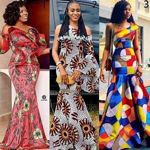 30, Pictures, Unique, African, Dresses, U2013, Elegant, Ankara, Styles, 2020