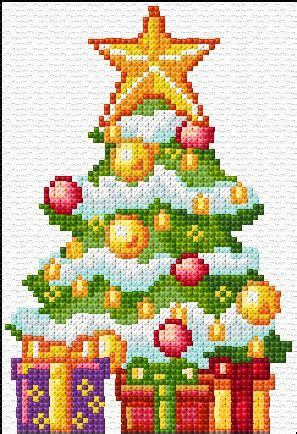 christmas cardx stitch  patterns