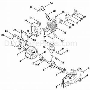 Stihl Fs 80 Brushcutter  Fs80e 4112   Parts Diagram  A