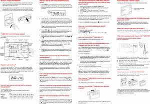 Honeywell Thermostat Cm61ng Users Manual User Guide  Uk