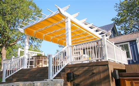 maintenance pergola kits  trex  shadetree canopies