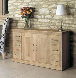 Mobel Oak Six Drawer Sideboard Was 65000 Now 51750