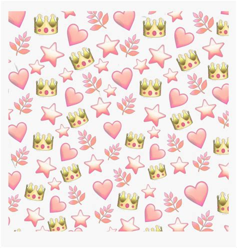 aesthetic heart emoji background png largest wallpaper