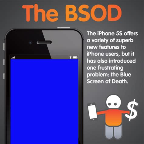 blue screen on iphone iphone 5s blue screen of and how to fix it