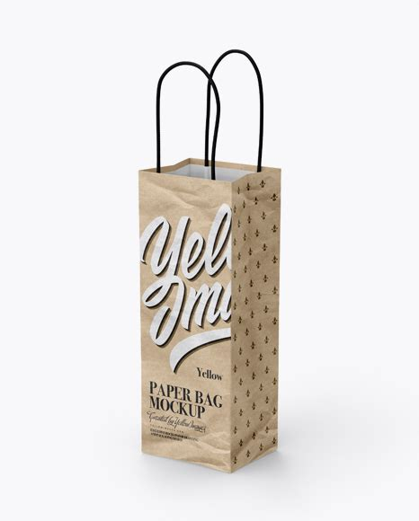 Visualise your ideas on this mockup of a kraft paper flour bag in half side view. Kraft Paper Bag Mockup - Half Side View - Kraft Paper Food ...