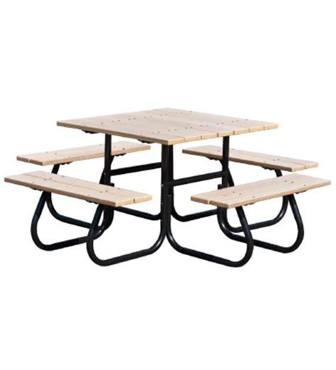 picnic table frame kit 30024 four sided picnic table frame kit