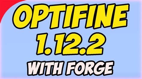 install optifine  forge  minecraft