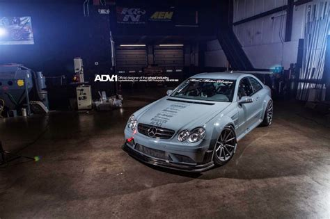 Mercedes Amg Clk 63 Black Series Adv 1 Wheels by Mercedes Clk63 Amg On Adv10 1 Sl Benztuning