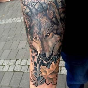Tatouage Loup Celtique : un tatouage de loup 13 inkage ~ Farleysfitness.com Idées de Décoration