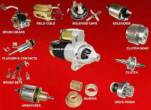 Electrical And Electronics Engineering  Starter Motor Repair Parts