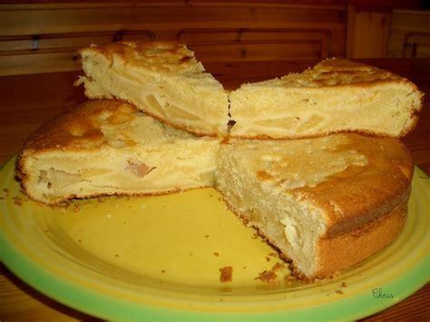 cake au mascarpone et aux pommes photos
