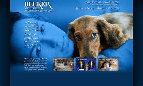 Becker Angel's Rest Website