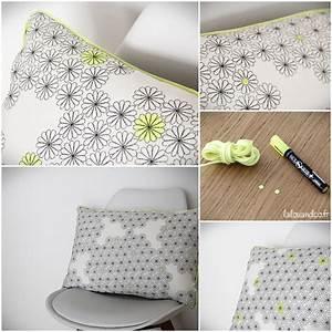 Coussin Jaune Ikea : diy customisez votre tissu ikea lalouandco ~ Preciouscoupons.com Idées de Décoration