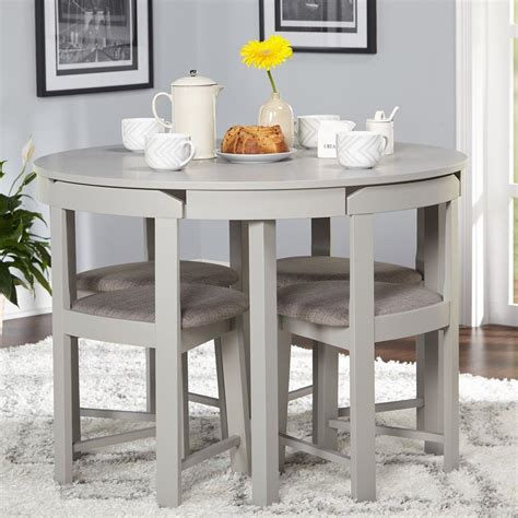 compact living kitchen table simple living 5 tobey compact dining set