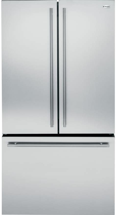 monogram zweeshss   counter depth french door refrigerator  twinchill internal