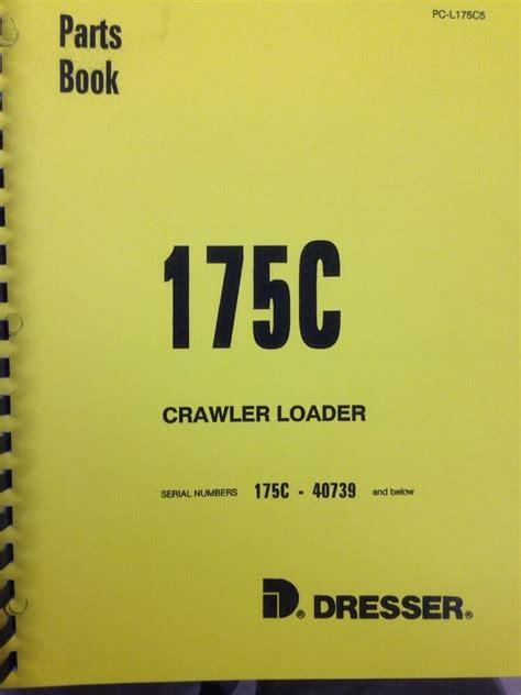 ih dresser  crawler track loader parts manual book finney equipment  parts