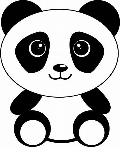 Panda Cartoon Clipart Svg