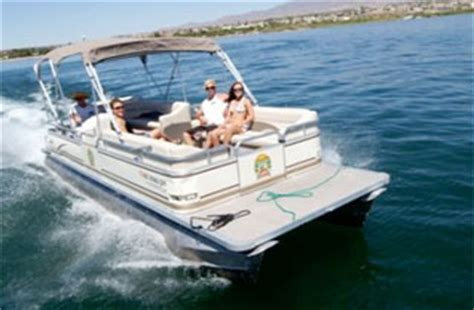 Lake Havasu Bass Boat Rentals by Decker Pontoon Boat