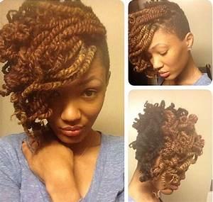 Peppy Kinky Twist Hairstyles For Black Women Hairstyle