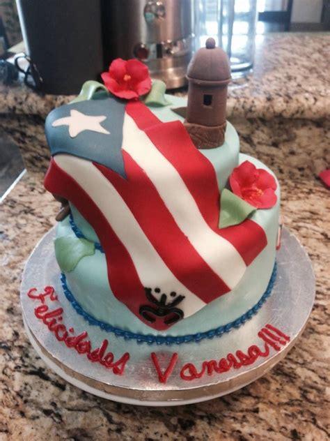 puerto rico theme cake     cake