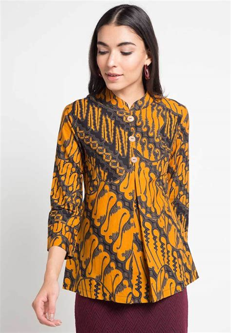 30+ Model Baju Batik Motif Parang Fashion Modern dan