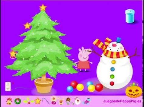 juegos de arboles de navidad juego 193 rbol de navidad de peppa