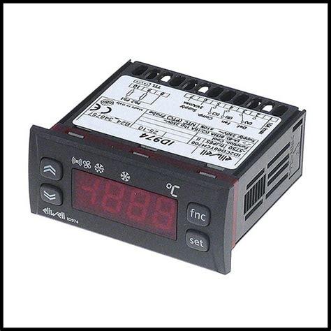 thermostat chambre froide thermostat régulateur électronique 3 relais eliwell id974